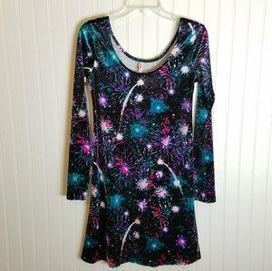 2baf4e3e6842 Xhilaration Dresses - 🍾🥂New Years Eve Velvet Fireworks Party Dress🎊